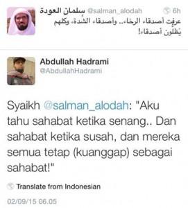 Sahabat Syaikh Salman