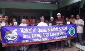 Wakaf Al-Qur'an dan Baksos 1