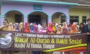 Wakaf Al-Qur'an dan Baksos 3