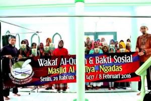 Wakaf Al-Qur'an dan Baksos 5